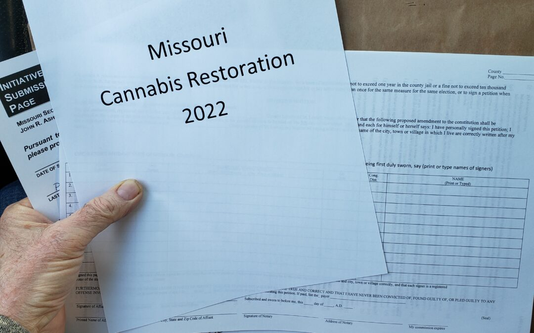 Cannabis Restoration 2022 – the filing